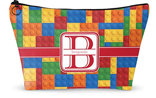 "Building Blocks Makeup Bag - Small - 8.5""x4.5"" (Personalized)"