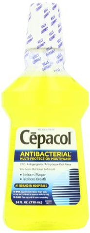 Cepacol Mouthwash, Gold, 24 Ounce by Cepacol