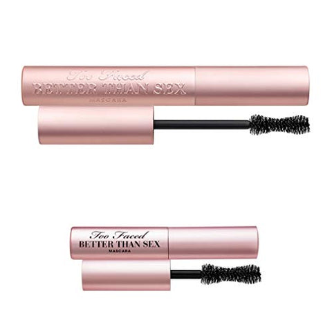 TOO FACED Better Than Sex Mascara Duo - Full Size and Mini Size
