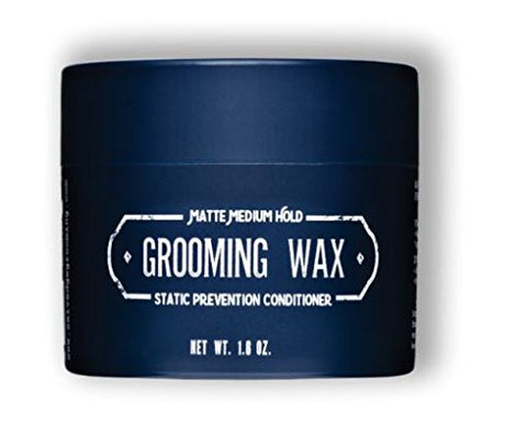 Selvedge Grooming Grooming Wax, Matte Medium Hold, Static Prevention Conditioner, 1.6 Ounce