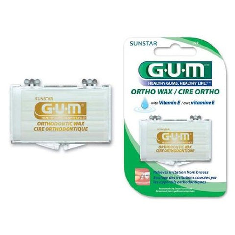 GUM ORTHODONTIC WAX 723R 1EA SUNSTAR AMERICAS