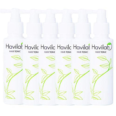 HAVILAH HAIR TONIC HAIR LOSS TREATMENT HAIR TREATMENT ROOT NUTRIENTS THINNING PACK SET (6 X 100ML.) [GET FREE BEAUTY GIFT FOR YOU]