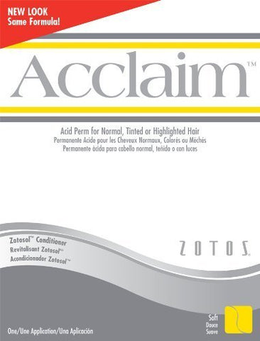 Acclaim Acid Regular Hair Perm Kit (Pack of 2)