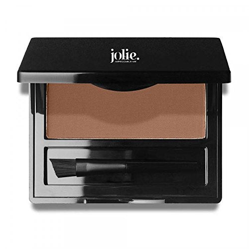 Jolie Brush on Brow Pressed Eye Brow Powder (Auburn)