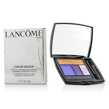 Lancome Color Design 5 Shadow and Liner Palette, No. 313 Jacaranda Bloom, 0.141 Ounce