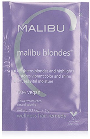 Malibu C Blondes Wellness Hair Remedy, 0.17 Oz