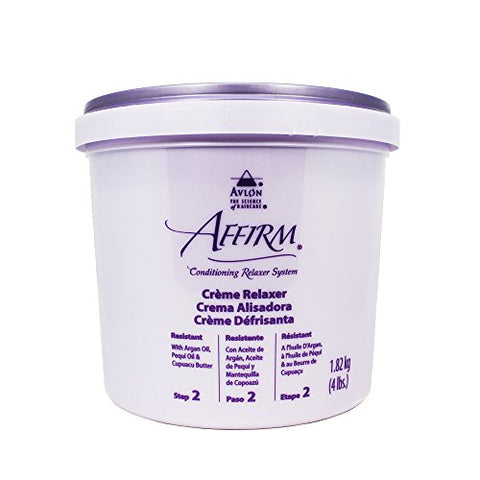 Avlon Affirm Creme Relaxer - 4 lb - Control : Resistant (Time Release Sodium Hydroxide)