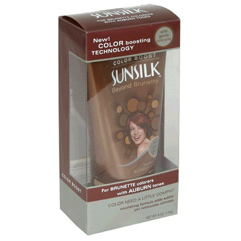 Sunsilk Beyond Brunette Color Boost, with Gentle Colorants, for Brunette Colorers with Auburn Tones, 6 oz (170 g)