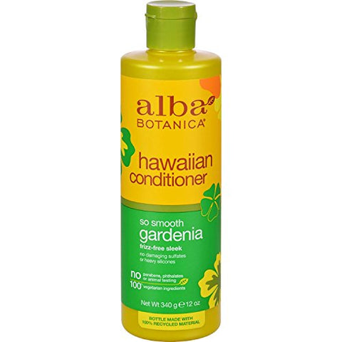 Alba Botanica Alba botanica hawaiian hair conditioner gardenia hydrating - 12 fl oz