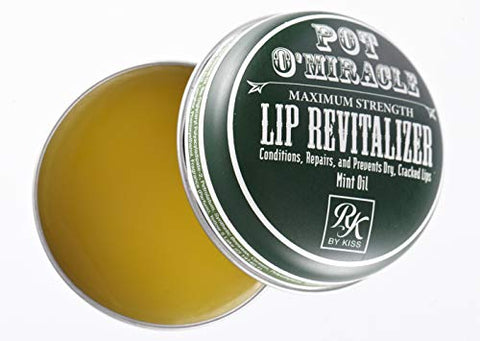 Ruby Kisses Pot O' Miracle Maximum Strength Lip Revitalizer Lip Balm (Mint-6 Pack)