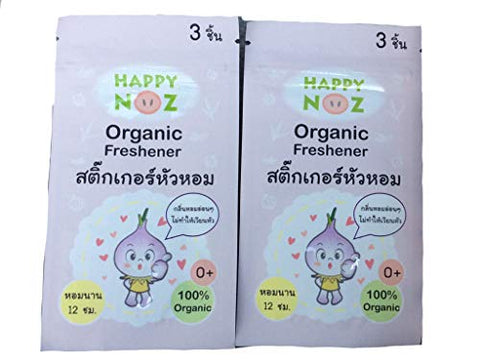 100% organic onion sticker,freshener 6pcs. By beautiful fantastic