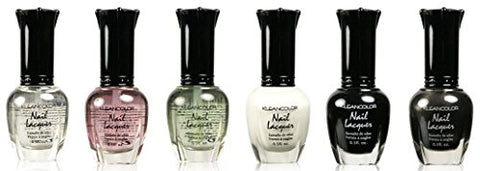 Kleancolor Nail Lacquer 6 Pieces (1 to 6)