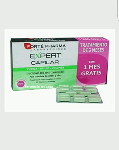 Expert Capilar Forte Pharma. Hair loss. 3 months Treatment Hair Lovers