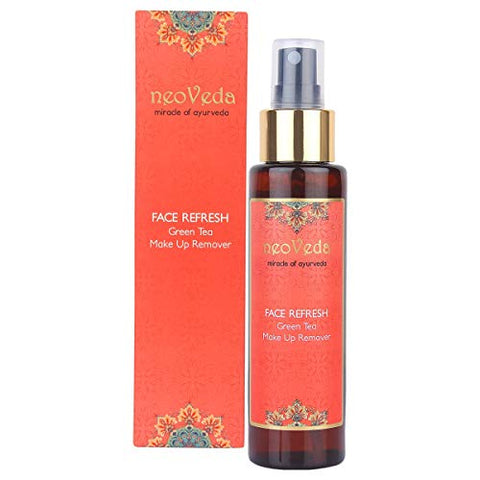 NeoVeda Face Refresh Green Tea Make Up Remover (100 ML)