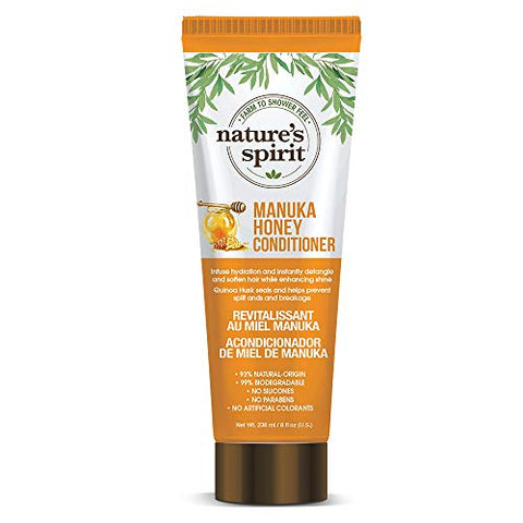 Nature's Spirit Conditioner - Manuka Honey 8 ounce (Pack of 4)