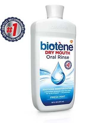 Biotene Dry Mouth Mouthwash, 16-ounce (Pack of 3)