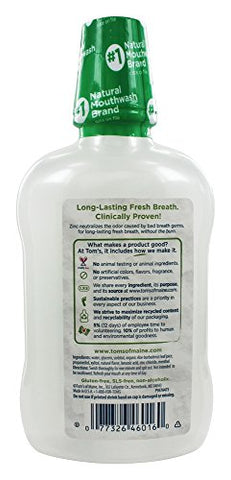 Natural Mouthwash Wicked Fresh Cool Mountain Mint - 16 Oz.