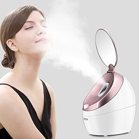Okachi Gliya Facial Steamer Nano Hot Steam Face Spa Device Ionic Face Steaming Machine For Home Faci