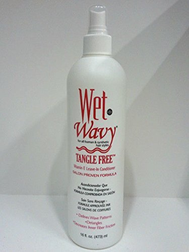 Wet N Wavy Vitamin E Leave-in Conditioner 12 Oz