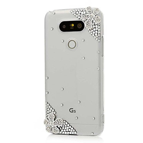 STENES Sparkly Flowers Case For Huawei Mate 10 Pro - Crystal