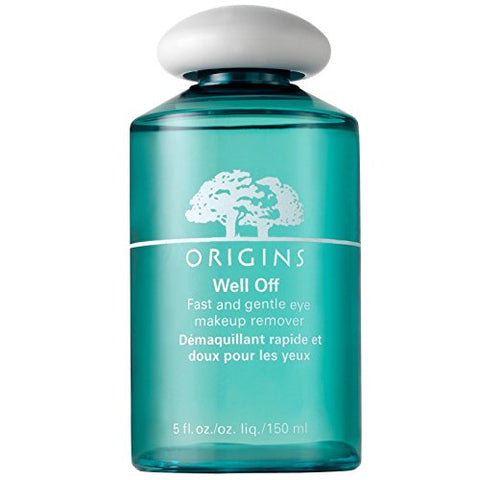 Origins Well Off Fast and Gentle Eye Makeup Remover 150ml - Pack of 2