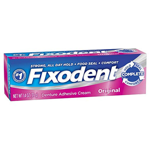 FIXODENT Denture Cream Original 1.4OZ