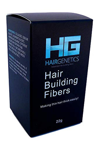Hair Genetics Advanced Keratin Hair Building Fibres (Light Brown)