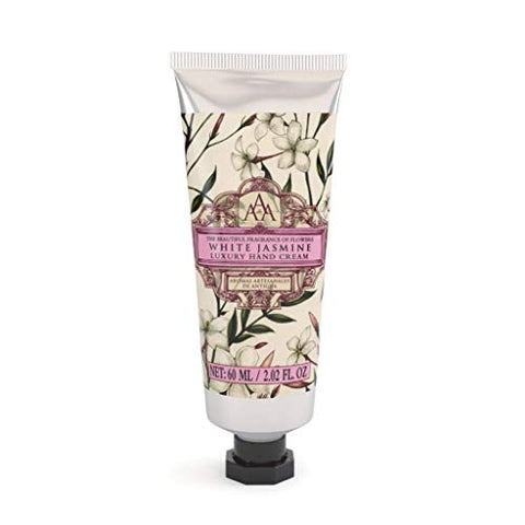 AAA - Luxury Hand Cream with Shea Butter - White Jasmine - 60 ml / 2 fl oz