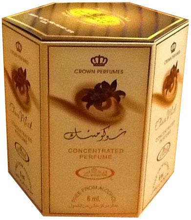 Choco Musk- 6ml (.2oz) Roll-on Perfume Oil by Al-Rehab (Crown Perfumes) (Box of 6)