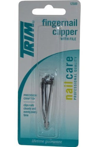 Trim Nailcare Fingernail Clipper with File - 2 Count