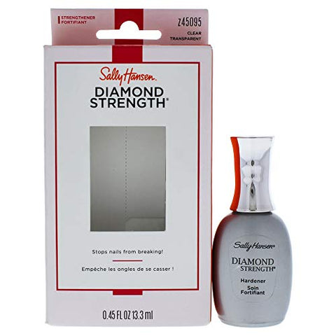 Sally Hansen Diamond Strength Instant Nail Hardener By Sally Hansen for Unisex - 0.45 Oz Nail Hardener, 0.45 Oz