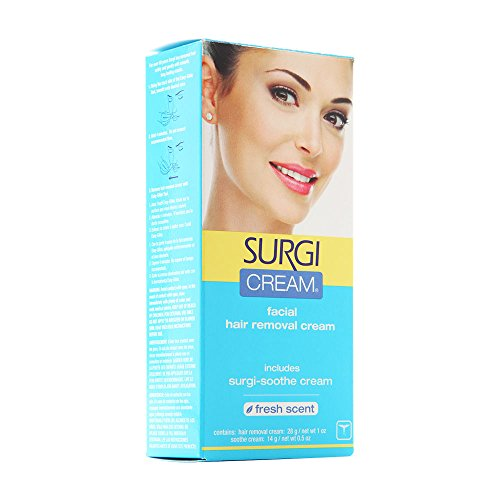 Surgi Cream Hair Remover For Face Extra Gentle 1 Oz
