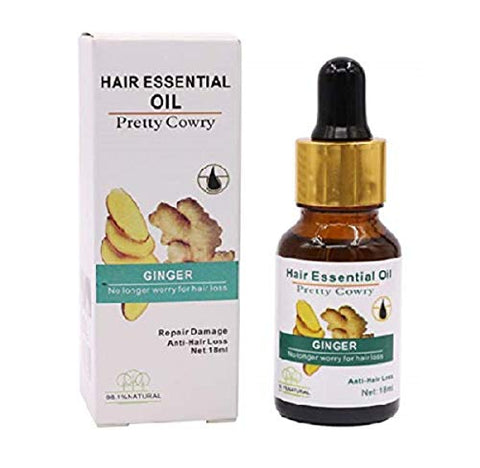 TSSPLUS NEW Arrive 2019 Ginger Hair Essential Oil Essence Hairdressing Hairs Mask Hair Care Oil Essential Oils Dry and Damaged Hair Nutrition