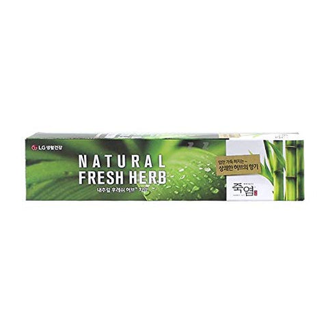 Bamboo Salt Toothpaste Natural Fresh Herb Dental Clinic Oral Care 160g DN1007