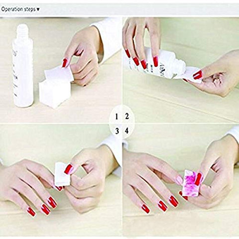 325 Pcs Nail Wipes Lint Free Wipes Bast Cotton Pads to Remove Nail Gel Nonwovens Cotton Sheet Nail Polish Cleaning Pads