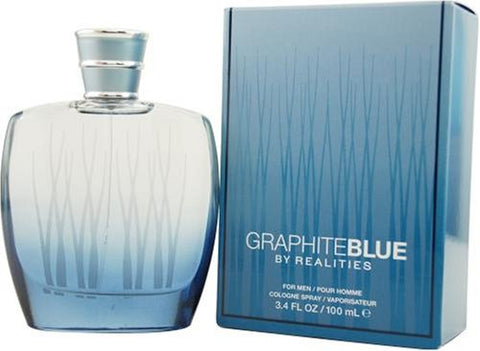 Realities Graphite Blue by Liz Claiborne For Men. Cologne Spray 3.4-Ounces