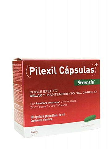New pilexil strensia 100 caps. double effect: combat hair loss and help relax Treatment Hair Lovers