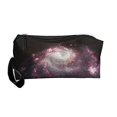 EWSDa Galaxy Starburst Cosmetic Bag Unisex Multifunctional Receiving Bag