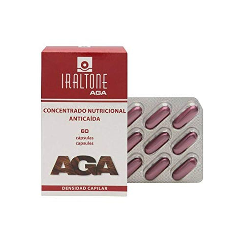 Iraltone aga hair density 60 caps Treatment Hair Lovers