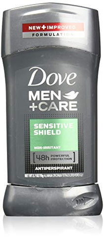 Dove Men+Care Antiperspirant Stick, Sensitive Shield, 2.7 Ounce (Pack of 4)