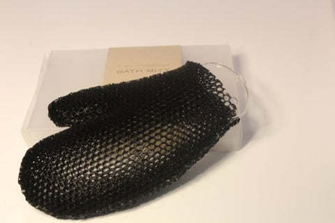 Supracor - Bath Mitt All Black