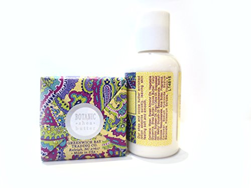 Greenwich Bay Trading Co. Zinna Aloe Shea Butter Soap and Lotion Gift Set