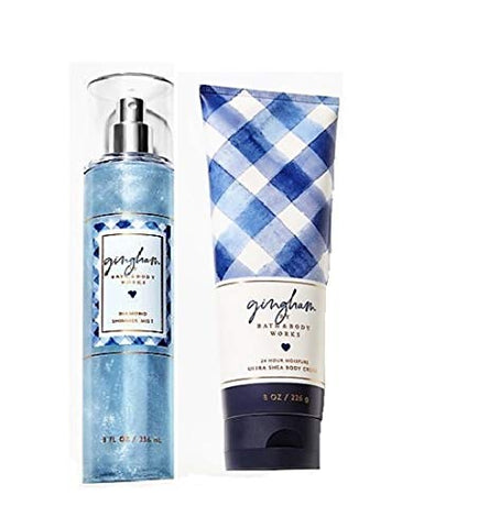 Gingham - Diamond Shimmer Mist and Ultra Shea Body Cream - 2019 - Gift set