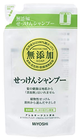 Miyoshi Soap | Shampoo | Additive Free Soap Shampoo Refill 300ml