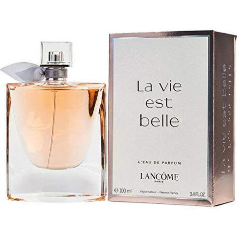 Lancome La Vie Est Belle for Women Eau de Parfum Spray, 3.4 Ounce