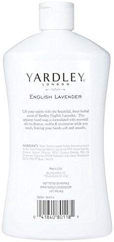 Yardley London Liquid Hand Soap - English Lavender - 16 oz - 2 pk