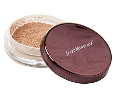 FreshMinerals Loose Powder Foundation, Second Skin, 2 Gram