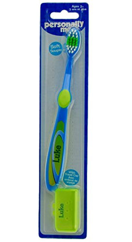 Personally Me Kids Soft Toothbrush Childrens Personalized Name (Luke)