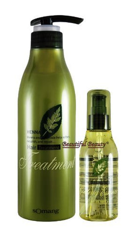HENNA HAIR TREATMENT 500ml + COATING ESSENCE 120ml