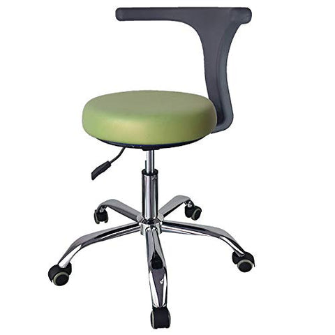 Mobile Air Cushion Dental Stools PU Leather Dentistry Seat